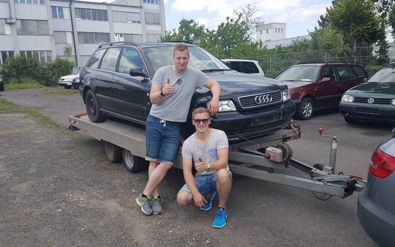 Audi Abholung